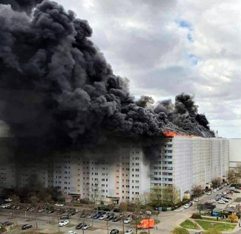 Berlin Großbrand